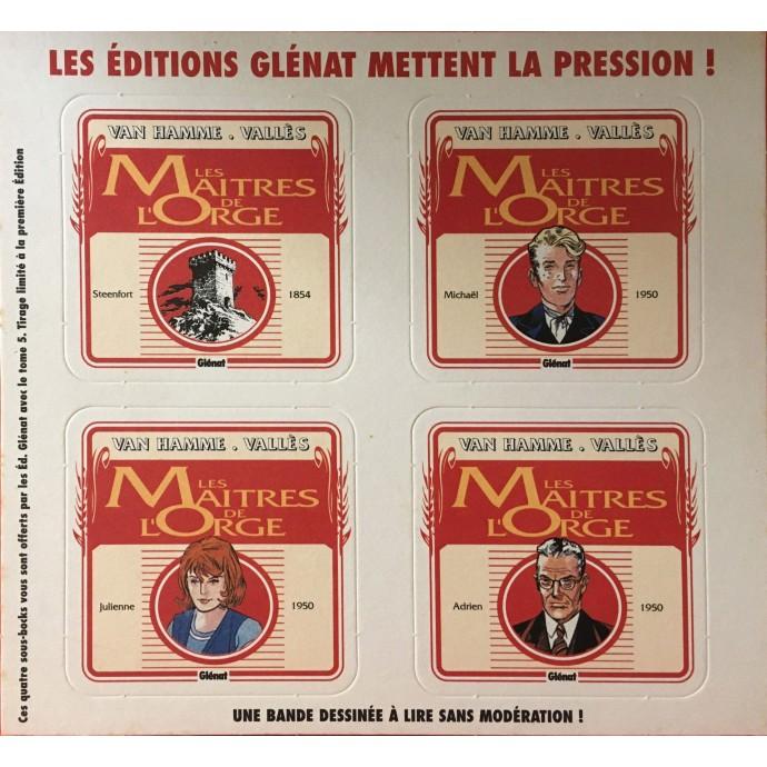 Maîtres de l'Orge (les) - Julienne, 1950 - EO 1996 - 2