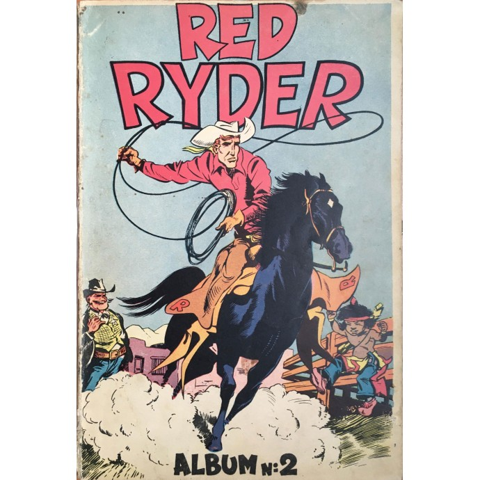 Red Ryder - Album n°2 - EO 1949 - 1