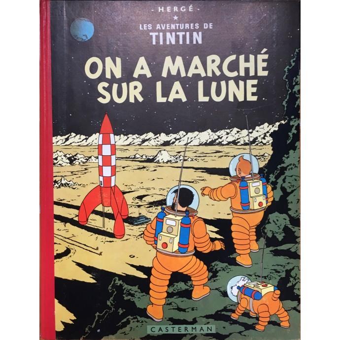 Tintin - On a marché sur la lune - 1960 - 1