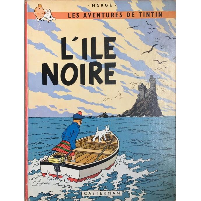 Tintin - L'île noire - EO 1966 - nouvelle version - 1