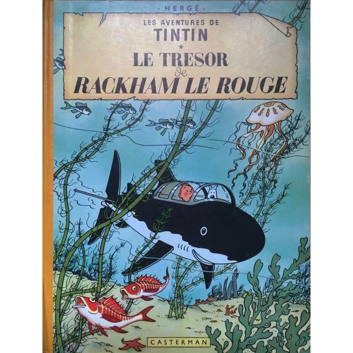 Tintin - Le Trésor de Rackham le Rouge - 1960 - 1