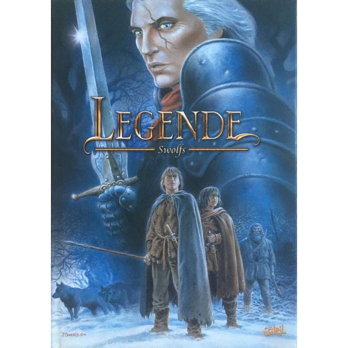 Légende - tome 1 et 2 - TL N&B  2004 - 1