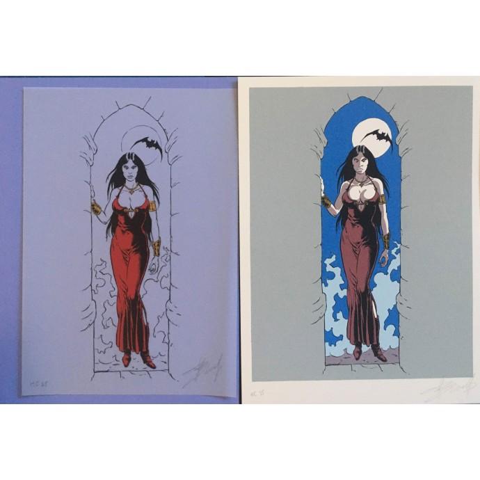 Prince de la nuit - Vampires - Portfolio 2001 - 2