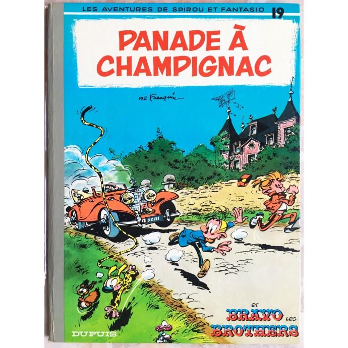 Spirou et Fantasio Panade à Champignac Rééd. 1975