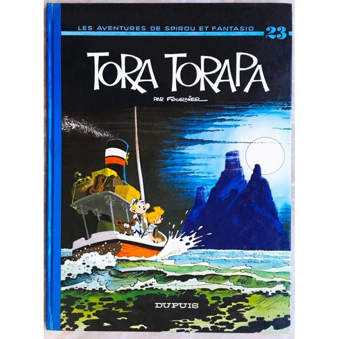 Spirou et Fantasio EO 1973 Tora Torapa