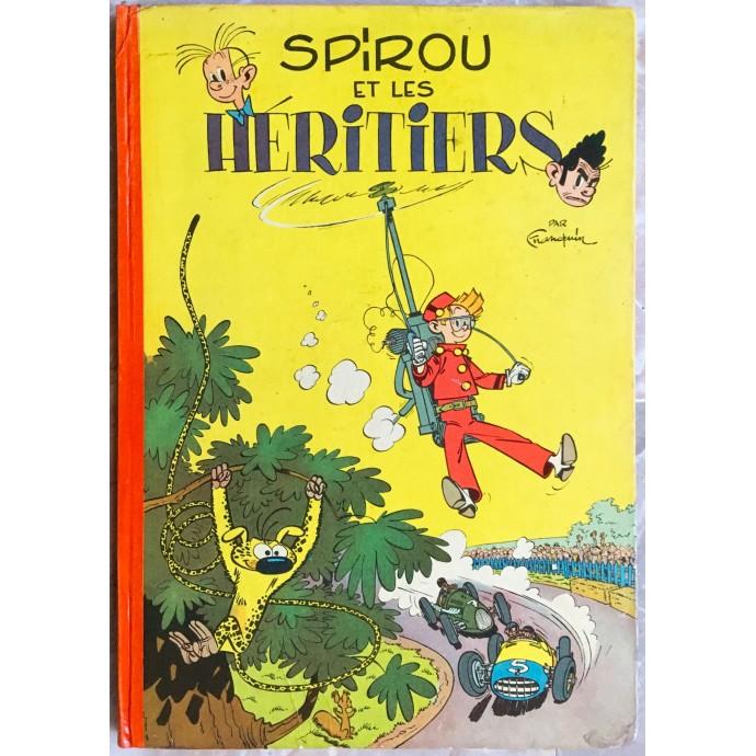 Spirou et Fantasio - Spirou et les héritiers - EO française 1955 - 1