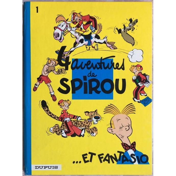 Spirou et Fantasio 4 aventures de Spirou et Fantasio Rééd. 1972