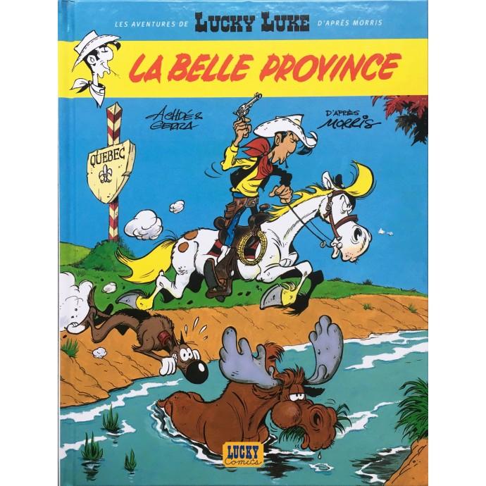 Lucky Luke - La Belle Province - 2004 + Dédicace - 1