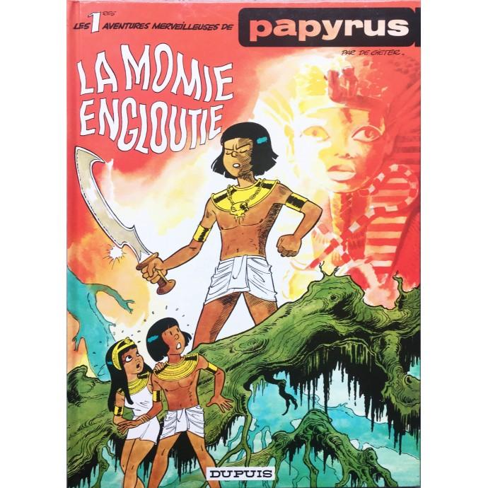 Papyrus - La momie engloutie - 1978 + Dédicace - 1