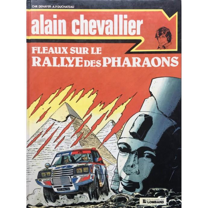 Alain Chevallier - Fléaux sur le rallye des pharaons - EO 1984 + Dédicace - 1