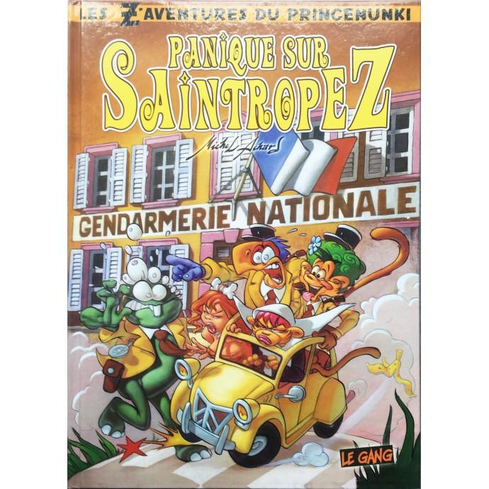 Princenunki - Panique sur Saintropez - EO 2006 + Dédicace - 1