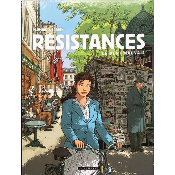 Résistances - Le vent mauvais - EO 2011 + Dédicace - 1