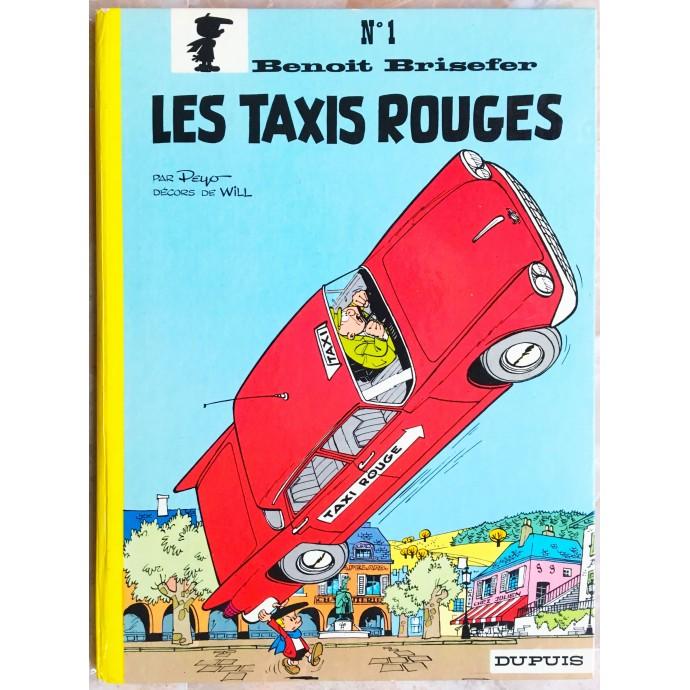 Benoit Brisefer Les taxis rouges Rééd. 1972
