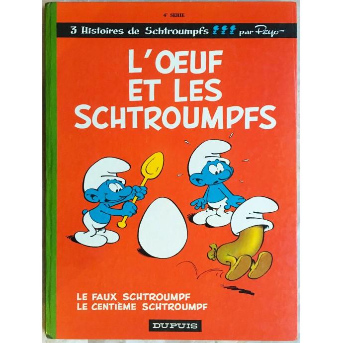 Schtroumpfs EO 1968 L'oeuf et les Schtroumpfs