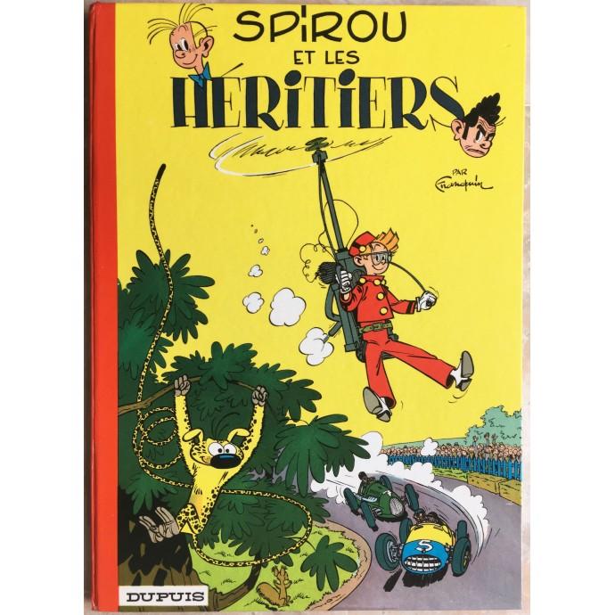 Spirou et Fantasio Spirou et les héritiers Rééd. 1965