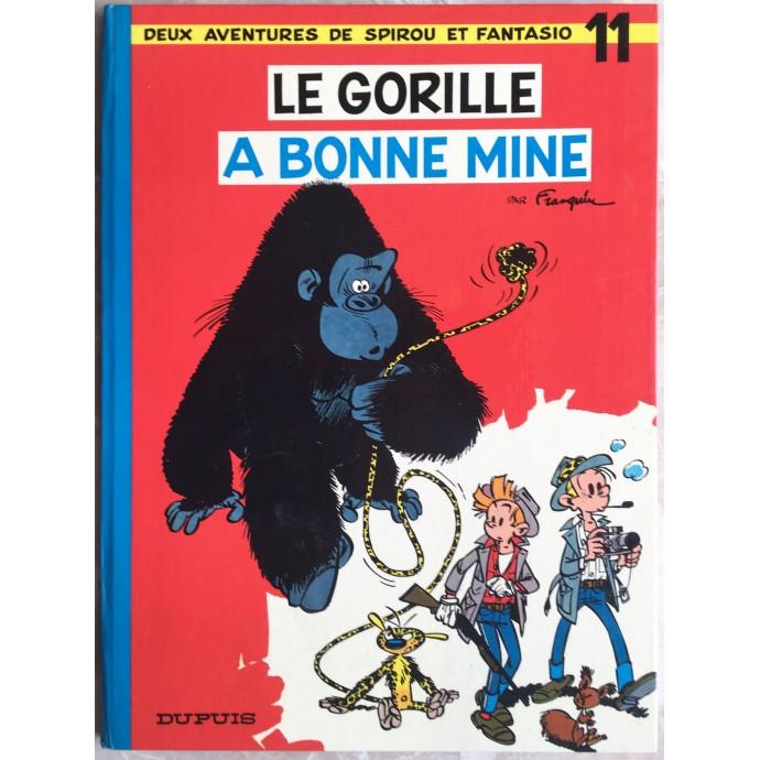 Spirou et Fantasio Le gorille a bonne mine Rééd. 1973