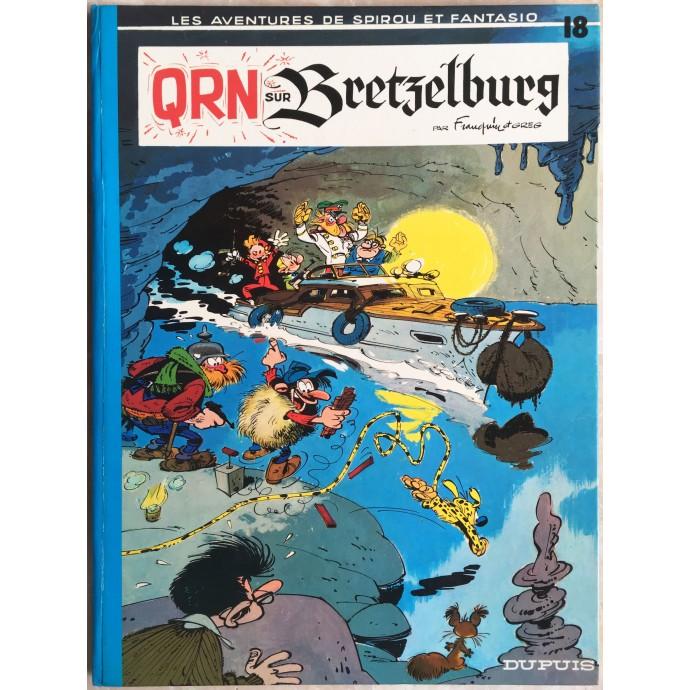 Spirou et Fantasio QRN sur Bretzelburg Rééd. 1974