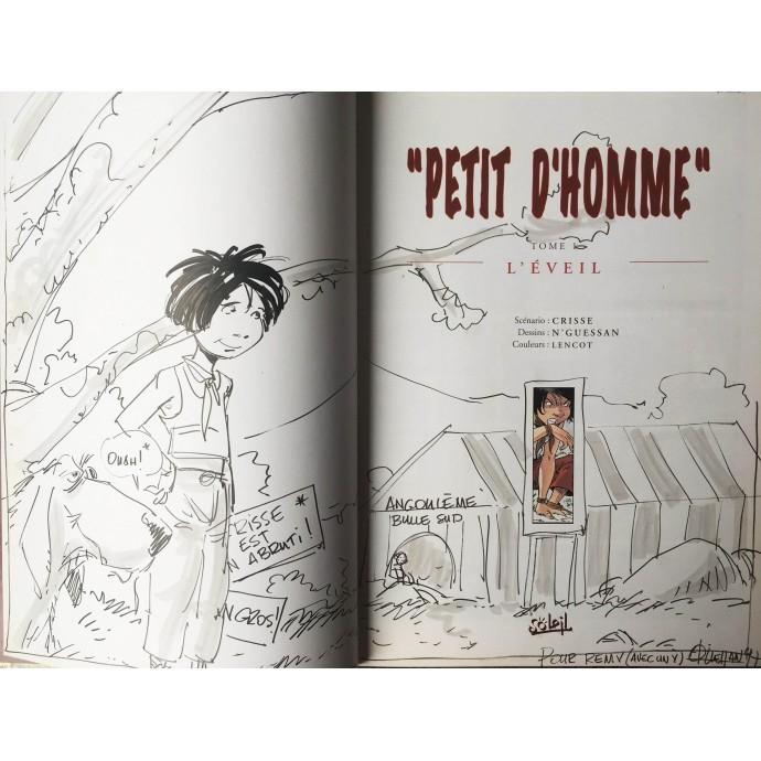 Petit d'Homme - L'éveil - EO 1996 + Dédicace - 2