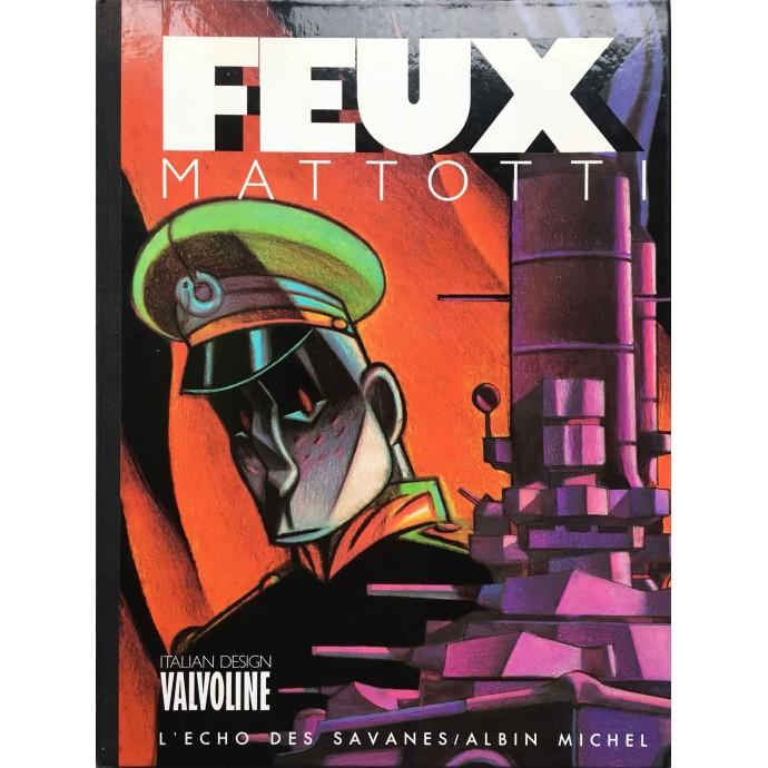FEUX - Mattotti - TL 1986 - 1