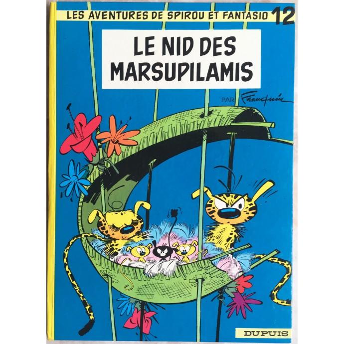 Spirou et Fantasio Le nid des marsupilamis Rééd. 1972