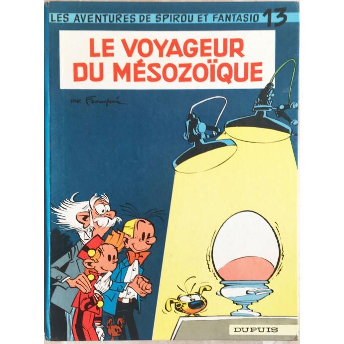 Spirou et Fantasio Le voyageur du mésozoïque Rééd. 1966