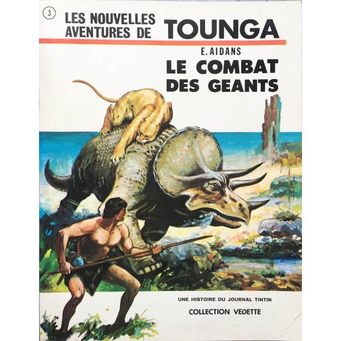 Tounga - Le Combat des Géants - EO 1970 + dédicace - 1