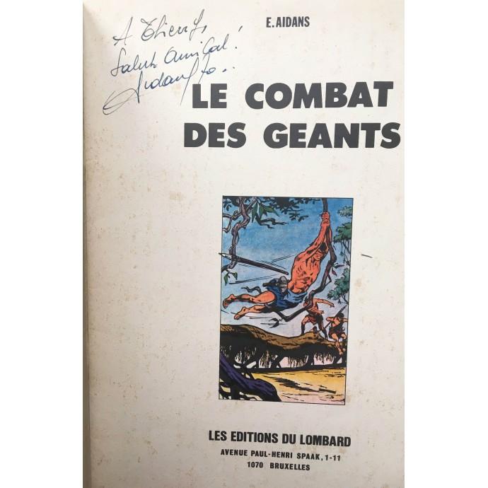 Tounga - Le Combat des Géants - EO 1970 + dédicace - 2