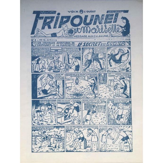Fripounet, 30 ans d'histoires, 1945-1975 + fac-similé journal 1945 - 2