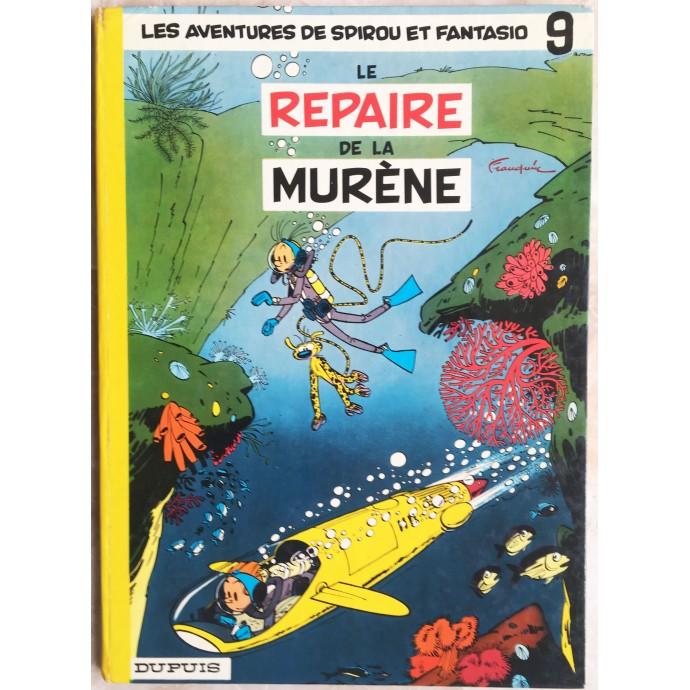 Spirou et Fantasio Le repaire de la murène Rééd. 1970