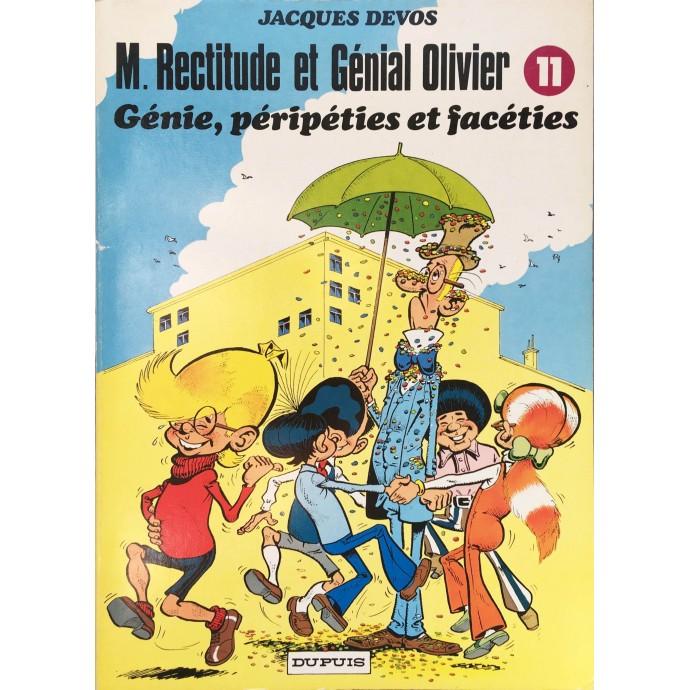 Génial Olivier - Génie, péripéties et facéties - EO 1983 - 1