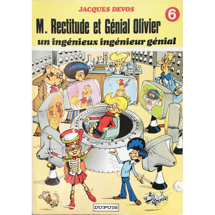 Génial Olivier - un ingénieux ingénieur génial - EO 1978 - 1