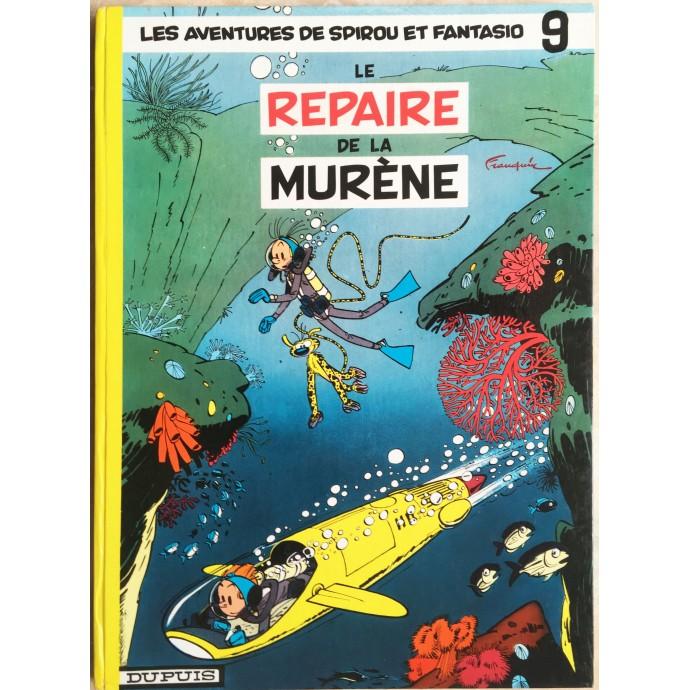Spirou et Fantasio Le repaire de la murène Rééd. 1965