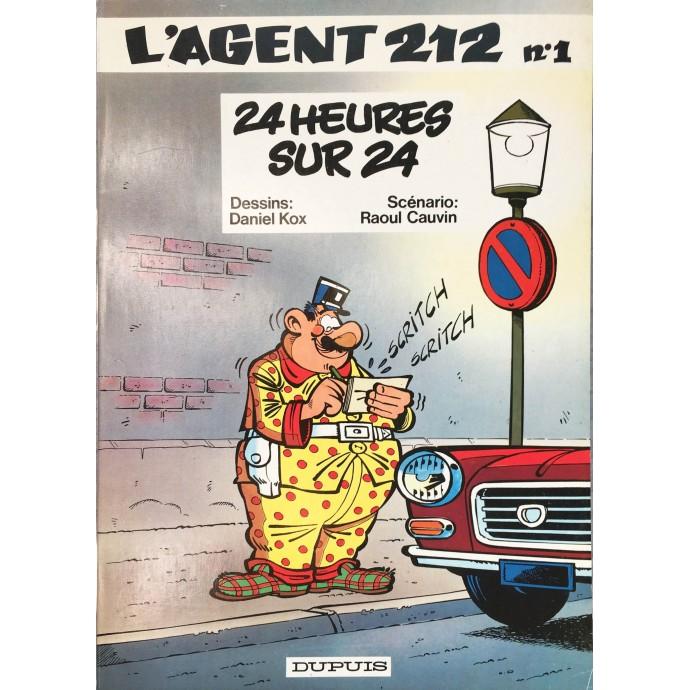 Agent 212 - 24 heures sur 24 - EO 1981 - 1