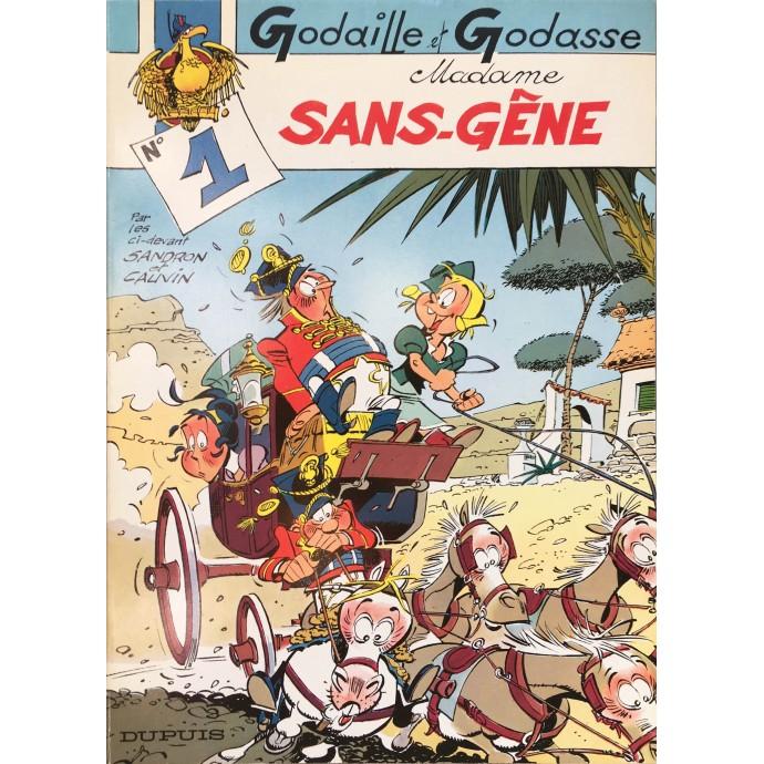 Godaille et Godasse - Madame Sans-Gêne - EO 1982 - 1