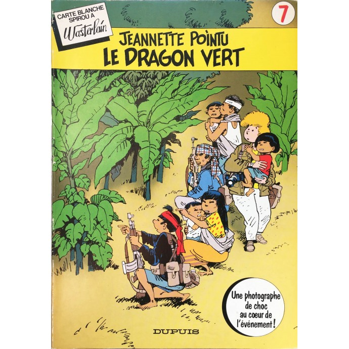 Jeannette Pointu - Le Dragon Vert - EO 1983 - 1
