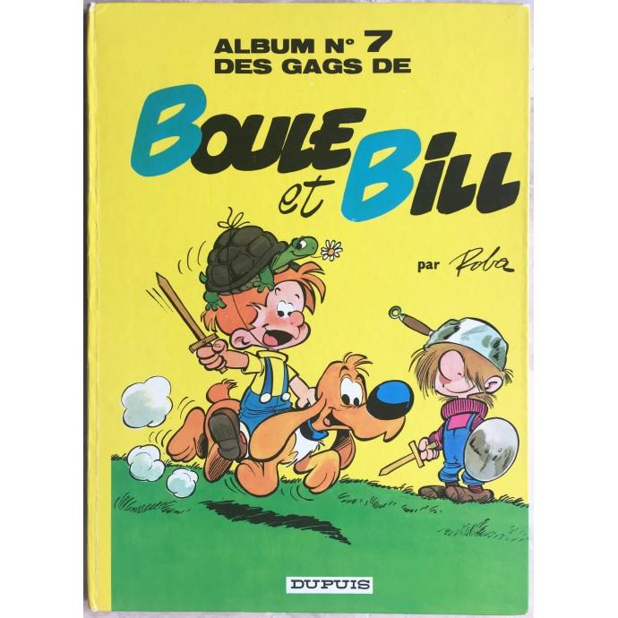 Boule et Bill des gags de Boule et Bill n° 7 Rééd. 1971