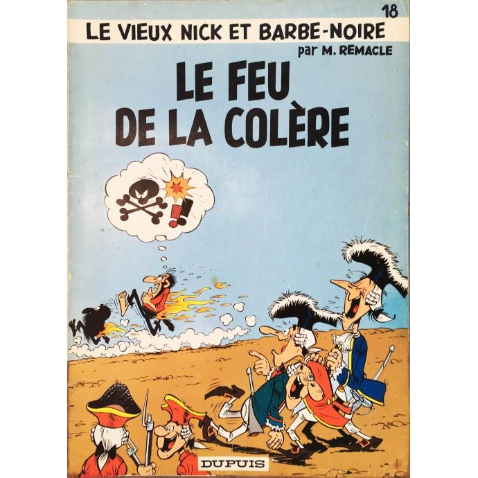Vieux Nick - Le Feu de la Colère - EO 1974 - 1