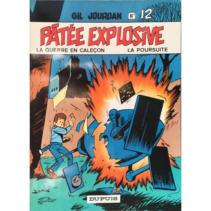 Gil Jourdan - Pâtée explosive  - EO 1971 - 1
