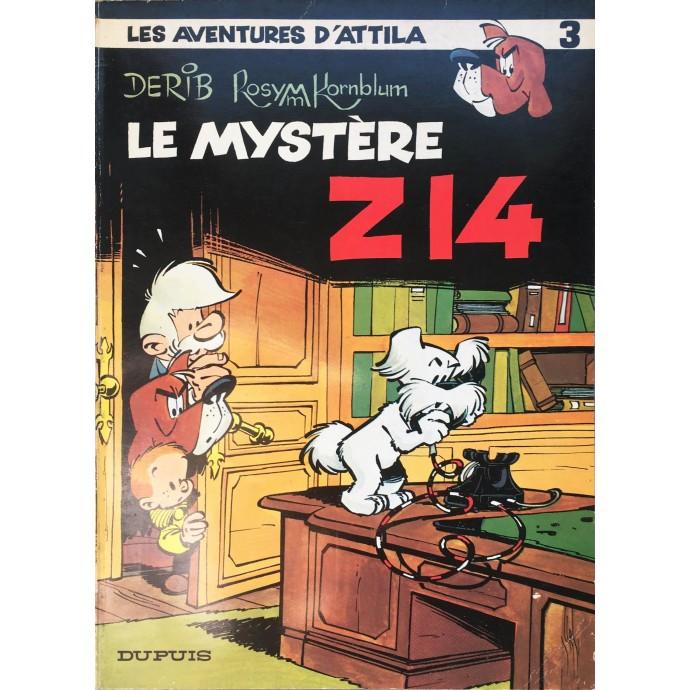 Attila - Le Mystère Z14 - EO 1971 - 1