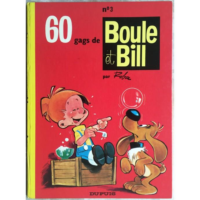 Boule et Bill 60 gags de Boule et Bill n° 3 Rééd. 1972