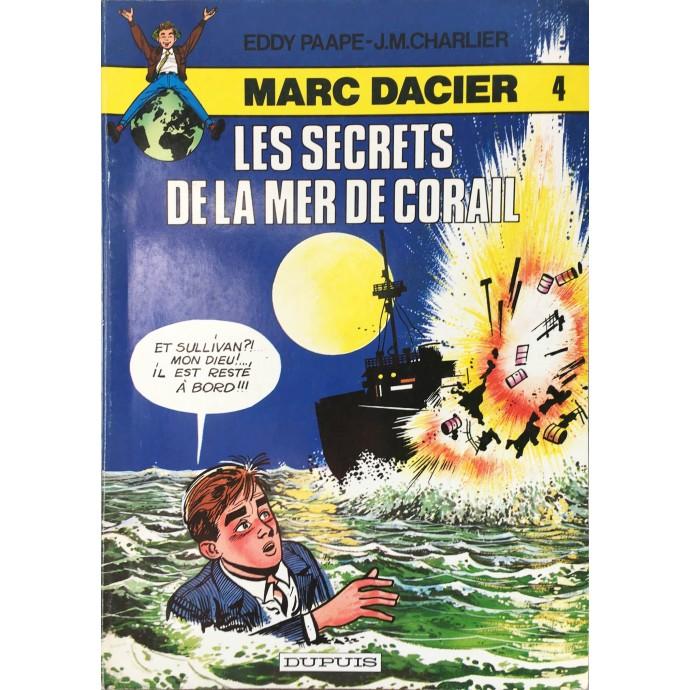 Marc DACIER - Les secrets de la mer de corail - 1980 - 1
