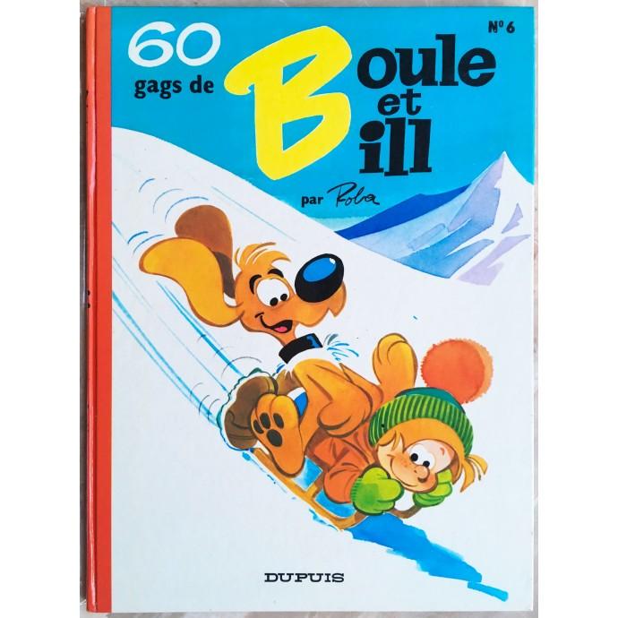 Boule et Bill 60 gags de Boule et Bill n° 6 Rééd. 1975