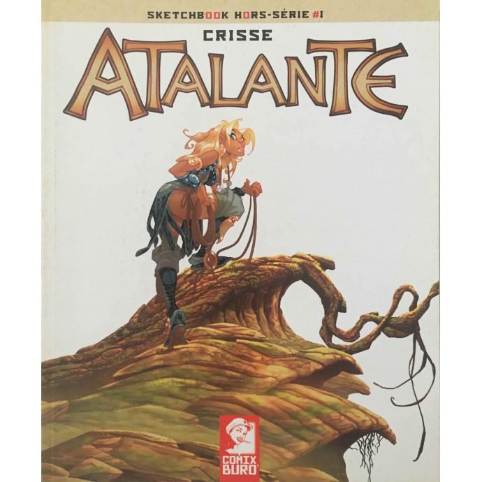 Crisse - Sketchbook - Atalante - HS1- EO 2009 - 1