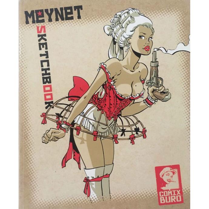 MEYNET Félix - Sketchbook Comix Buro- EO 2011 - 1