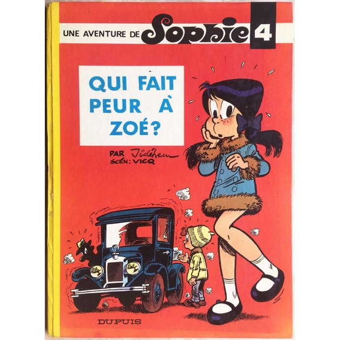 Sophie EO 1970 Qui fait peur à Zoé?