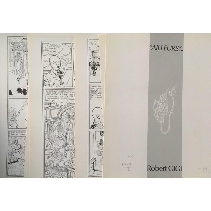 GIGI - Rêves écarlates - TT 1987 + portfolio - 2
