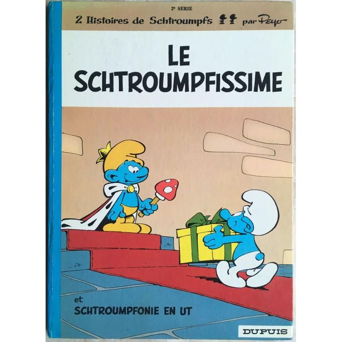 Schtroumpfs (les) Le Schtroumpfissime Rééd. 1972