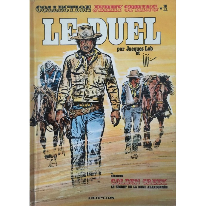Jerry Spring - Le Duel - EO 1974 - 1