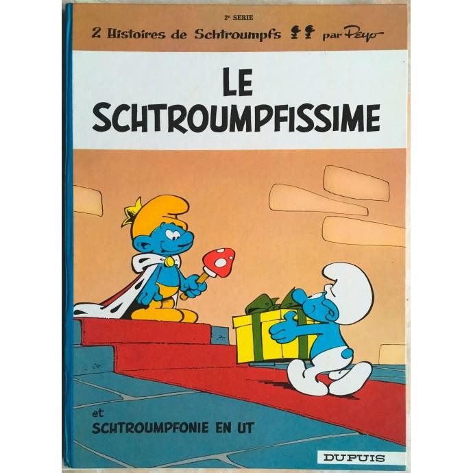 Schtroumpfs (les) EO 1965 Le Schtroumpfissime