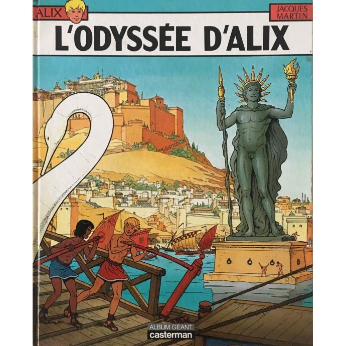 ALIX - L'Odyssée d'Alix - Album Géant - EO 1987 - 1